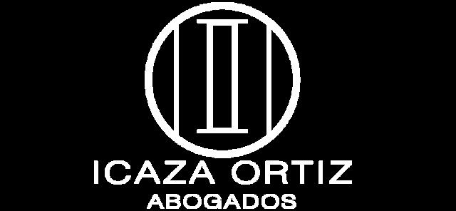 Logo en fondo transparente - Icaza Ortiz Abogados.